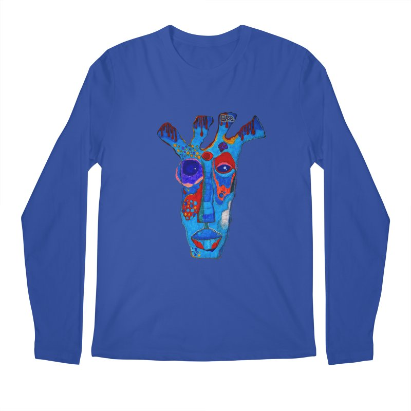 Shamanic Blues Men's Regular Longsleeve T-Shirt by Baston's T-Shirt Emporium!