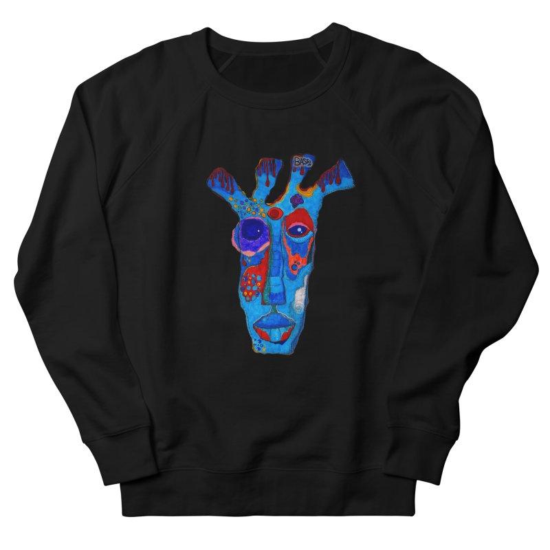 Shamanic Blues Women's French Terry Sweatshirt by Baston's T-Shirt Emporium!