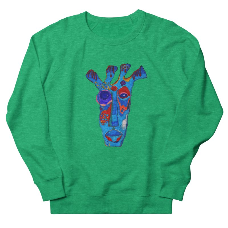 Shamanic Blues Men's French Terry Sweatshirt by Baston's T-Shirt Emporium!