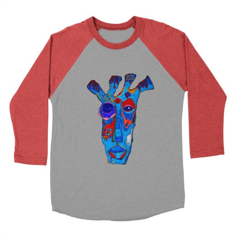 Shamanic Blues Women's Baseball Triblend Longsleeve T-Shirt by Baston's T-Shirt Emporium!