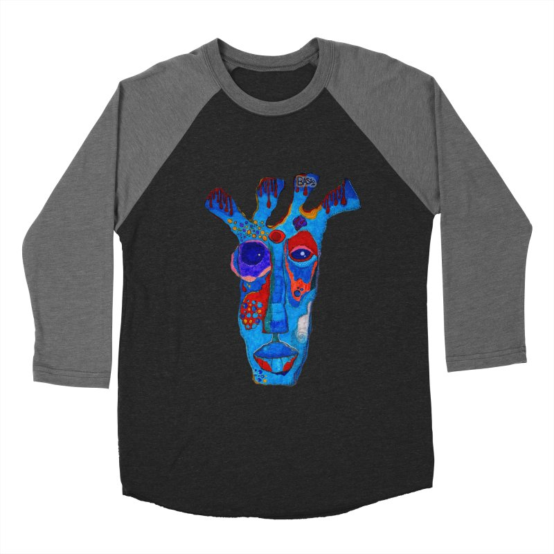 Shamanic Blues Women's Baseball Triblend Longsleeve T-Shirt by Baston's T-Shirt Emporium!