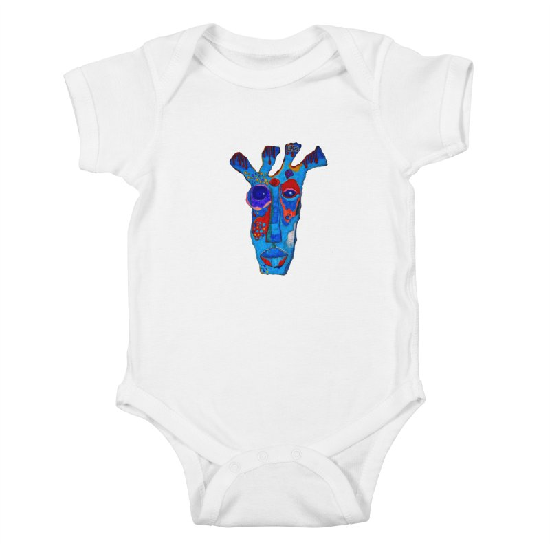 Shamanic Blues Kids Baby Bodysuit by Baston's T-Shirt Emporium!