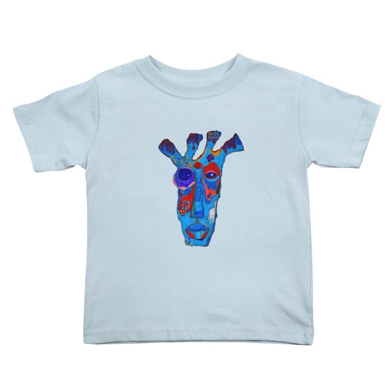 Shamanic Blues Kids Toddler T-Shirt by Baston's T-Shirt Emporium!
