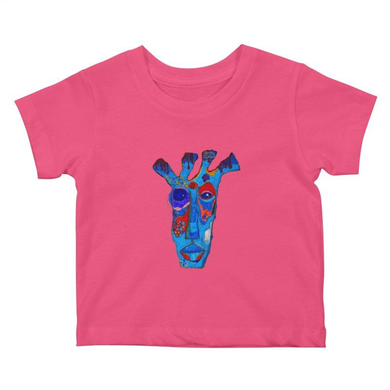 Shamanic Blues Kids Baby T-Shirt by Baston's T-Shirt Emporium!