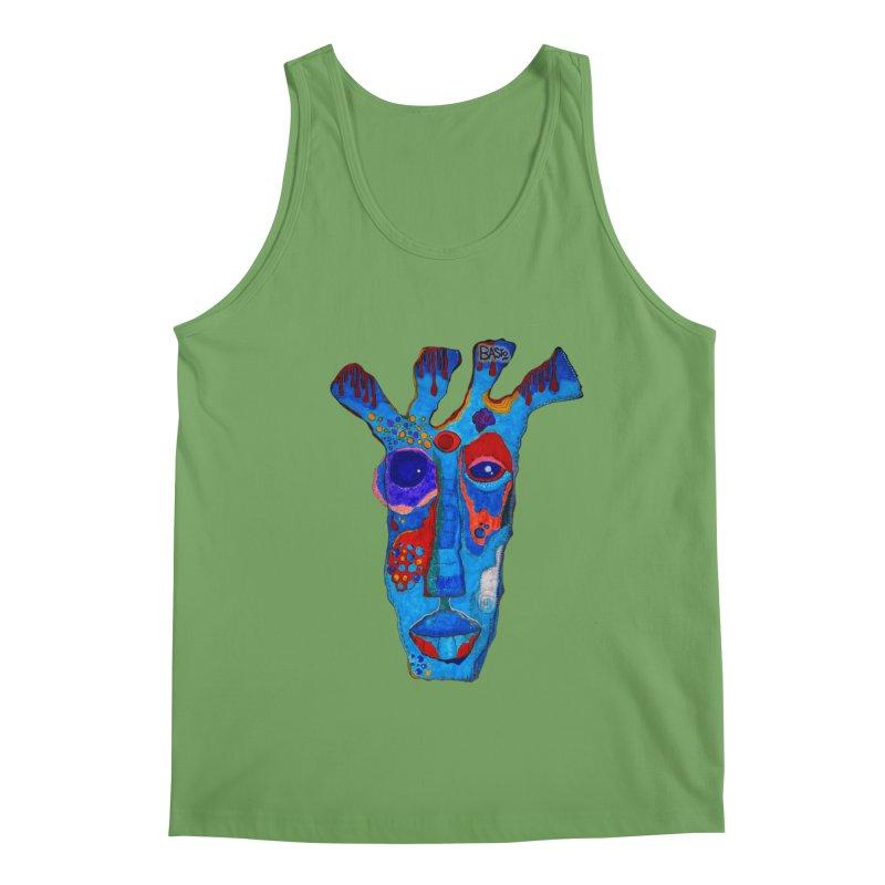 Shamanic Blues Men's Tank by Baston's T-Shirt Emporium!
