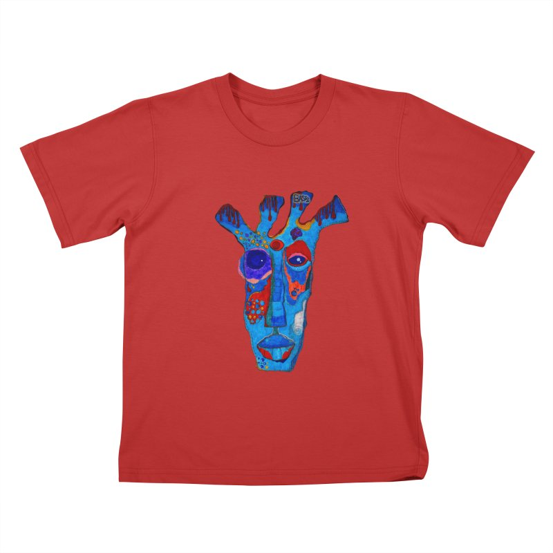 Shamanic Blues Kids T-Shirt by Baston's T-Shirt Emporium!