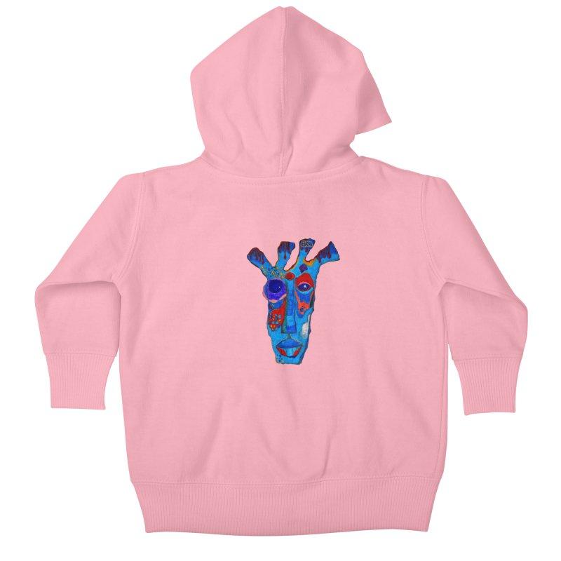Shamanic Blues Kids Baby Zip-Up Hoody by Baston's T-Shirt Emporium!