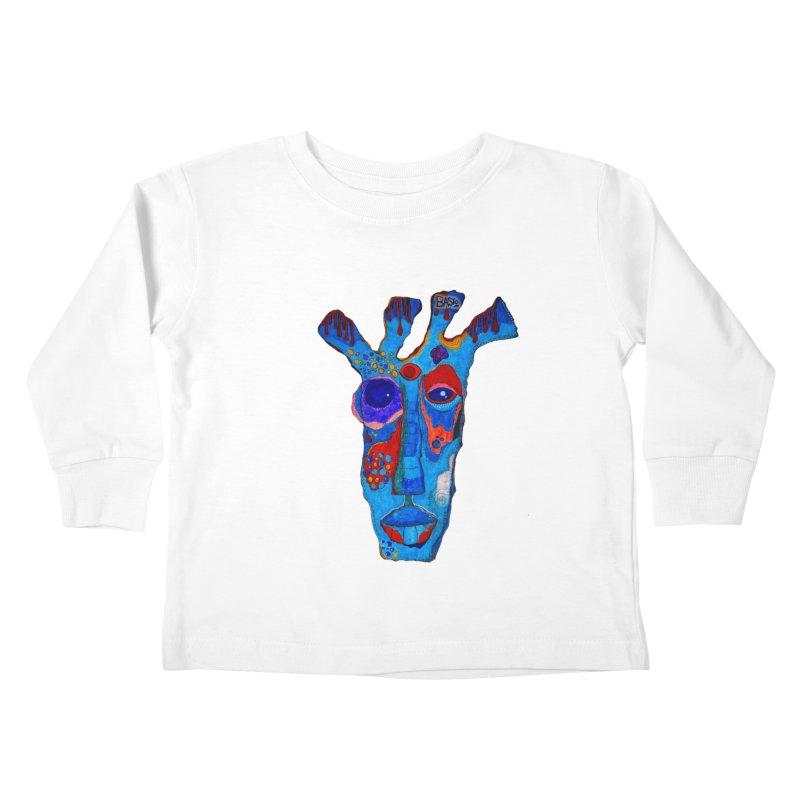 Shamanic Blues Kids Toddler Longsleeve T-Shirt by Baston's T-Shirt Emporium!