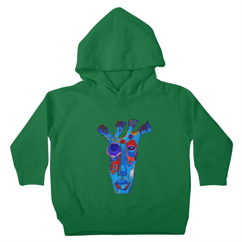 Shamanic Blues Kids Toddler Pullover Hoody by Baston's T-Shirt Emporium!