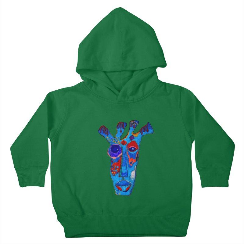 Shamanic Blues Kids Toddler Pullover Hoody by Baston's T-Shirt Emporium!