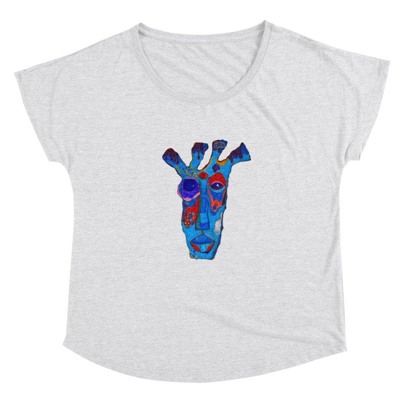 Shamanic Blues Women's Dolman Scoop Neck by Baston's T-Shirt Emporium!