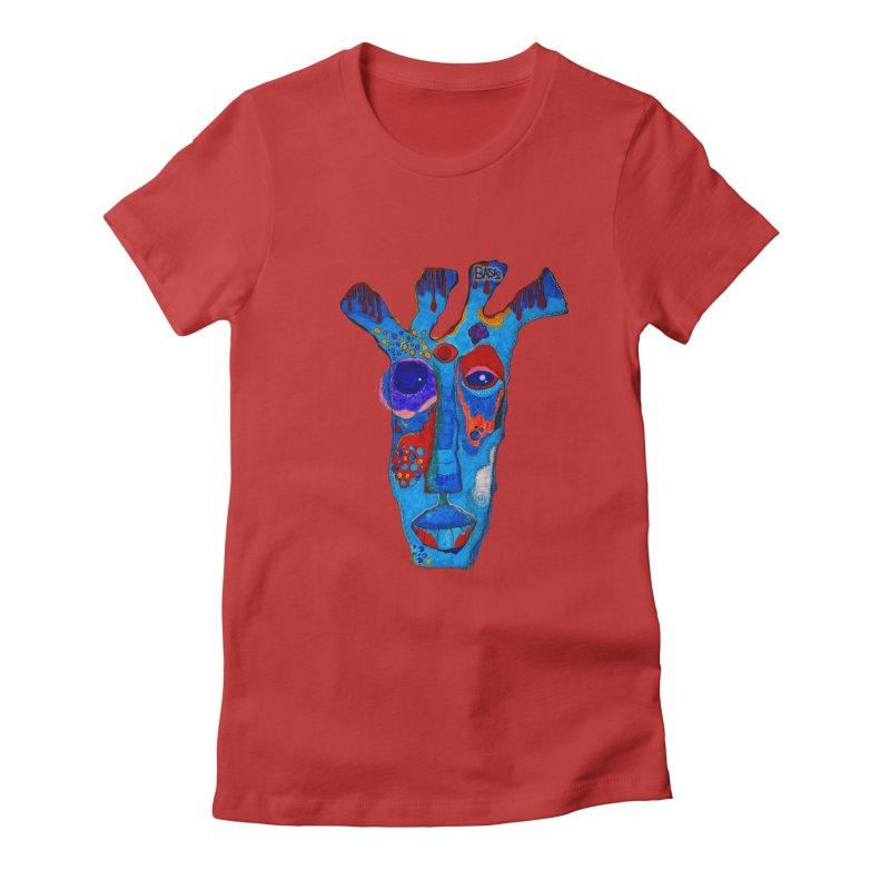 Shamanic Blues Women's T-Shirt by Baston's T-Shirt Emporium!