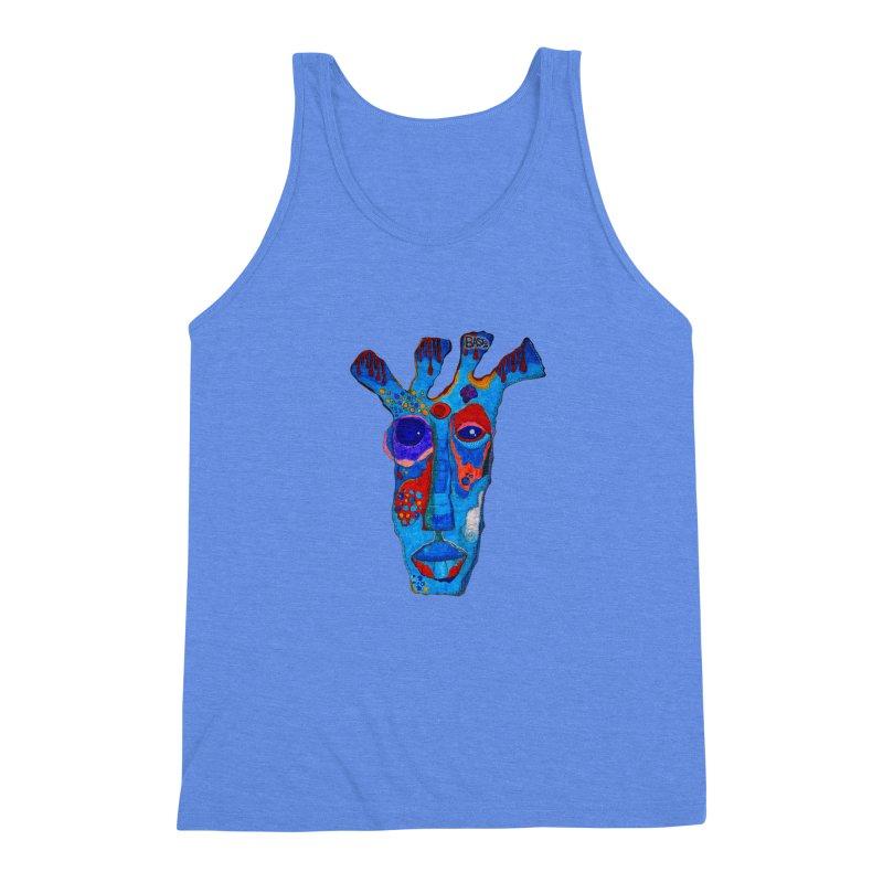 Shamanic Blues Men's Triblend Tank by Baston's T-Shirt Emporium!