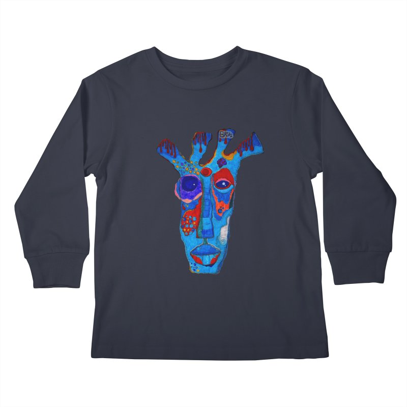 Shamanic Blues Kids Longsleeve T-Shirt by Baston's T-Shirt Emporium!
