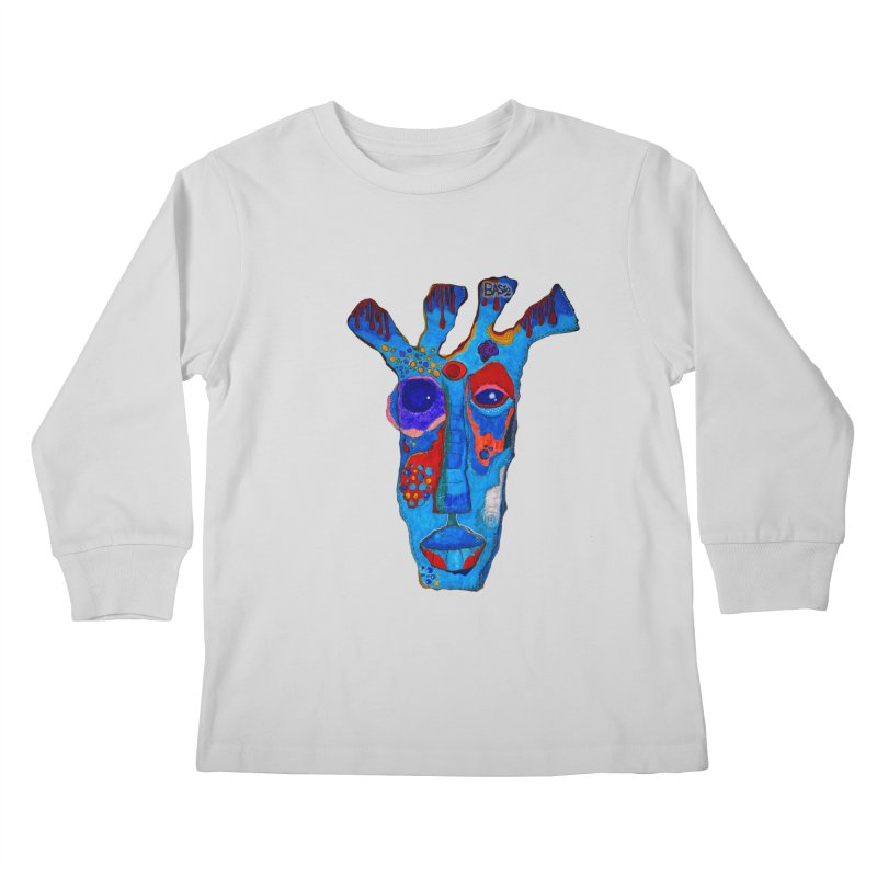 Shamanic Blues Kids Longsleeve T-Shirt by Baston's T-Shirt Emporium!