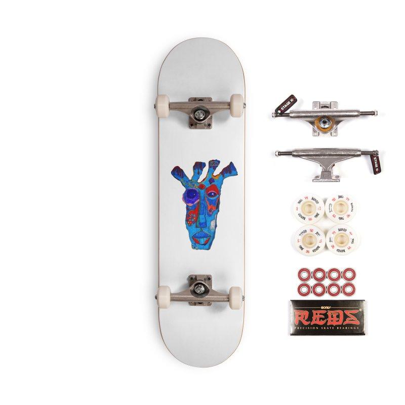 Shamanic Blues Accessories Complete - Pro Skateboard by Baston's T-Shirt Emporium!