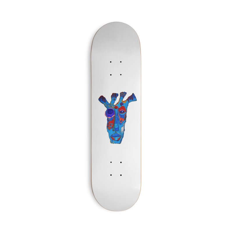 Shamanic Blues Accessories Deck Only Skateboard by Baston's T-Shirt Emporium!