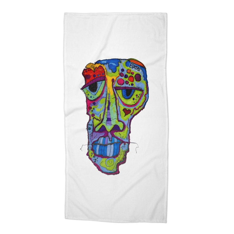 Reflection Accessories Beach Towel by Baston's T-Shirt Emporium!