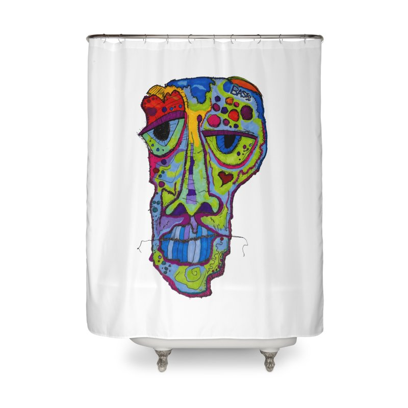 Reflection Home Shower Curtain by Baston's T-Shirt Emporium!