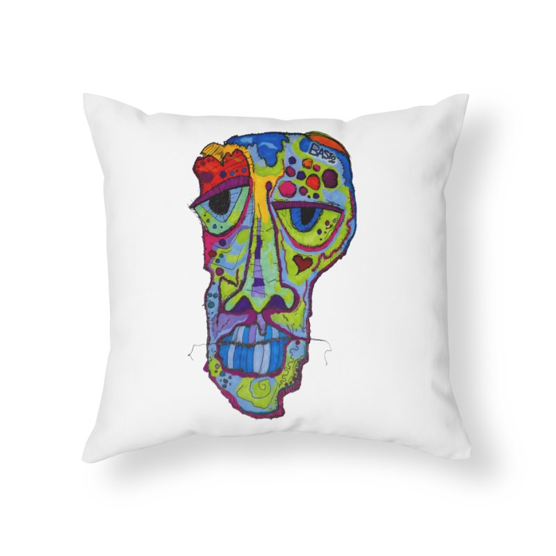 Reflection Home Throw Pillow by Baston's T-Shirt Emporium!