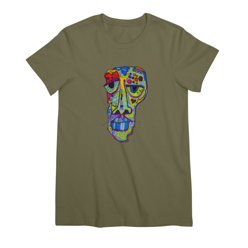 Reflection Women's Premium T-Shirt by Baston's T-Shirt Emporium!