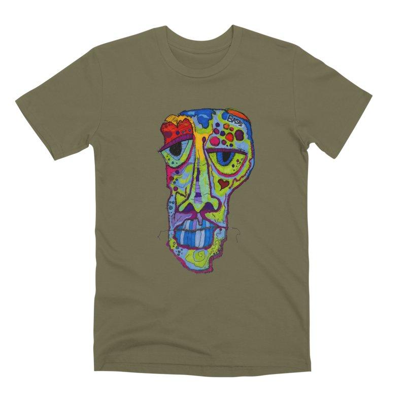 Reflection Men's Premium T-Shirt by Baston's T-Shirt Emporium!