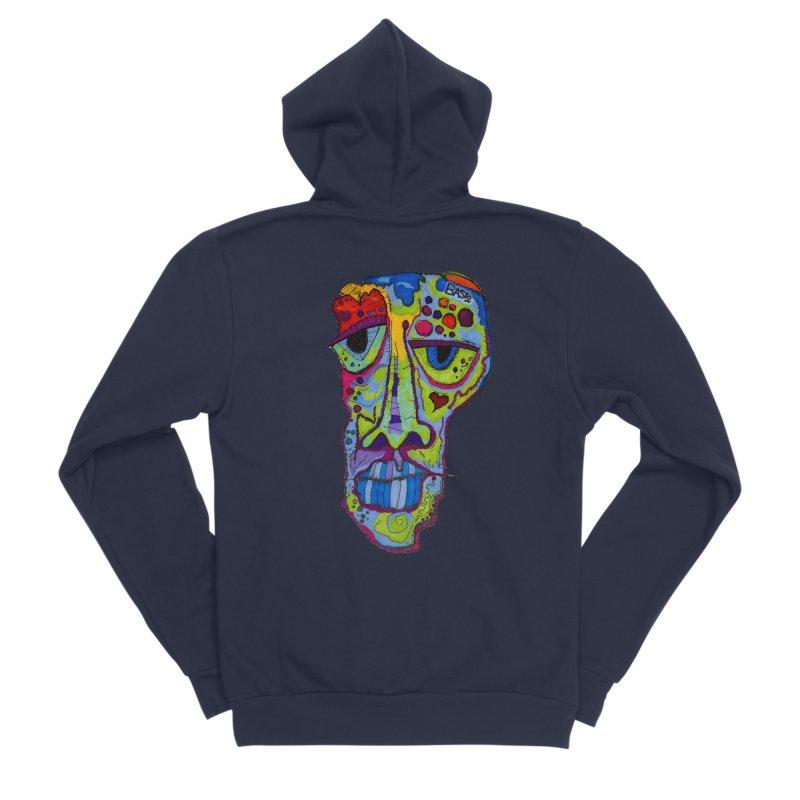 Reflection Men's Sponge Fleece Zip-Up Hoody by Baston's T-Shirt Emporium!