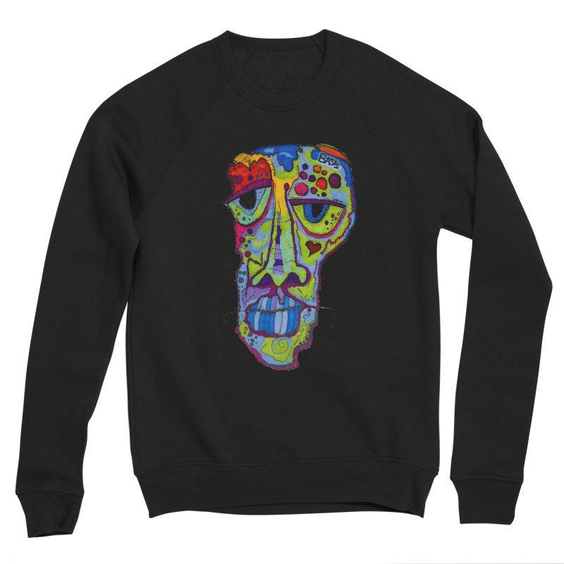Reflection Men's Sponge Fleece Sweatshirt by Baston's T-Shirt Emporium!