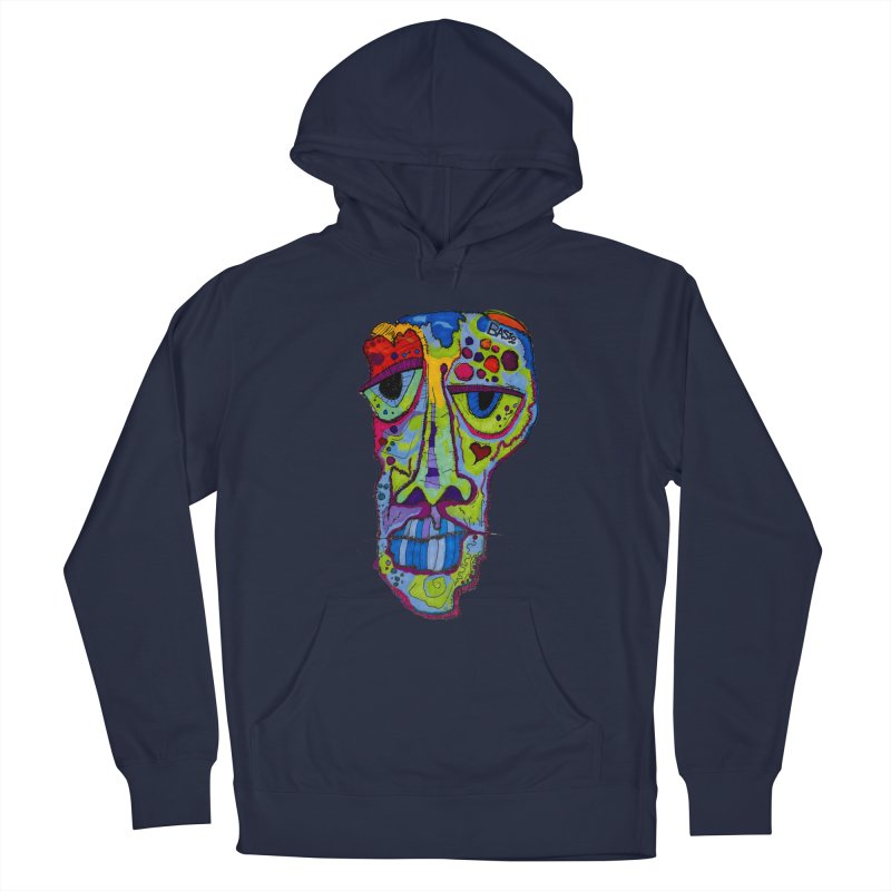 Reflection Men's French Terry Pullover Hoody by Baston's T-Shirt Emporium!