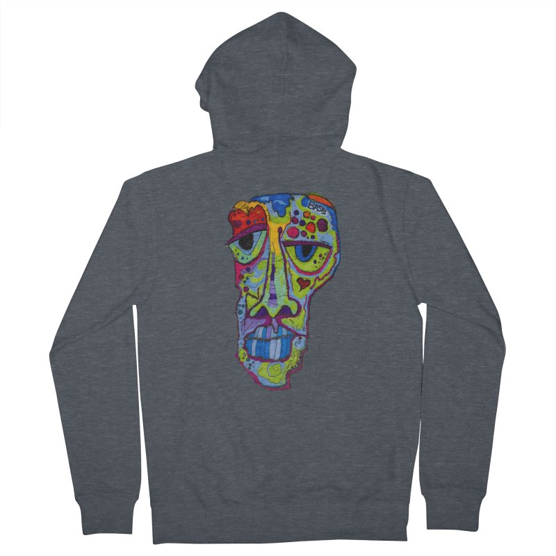 Reflection Women's French Terry Zip-Up Hoody by Baston's T-Shirt Emporium!