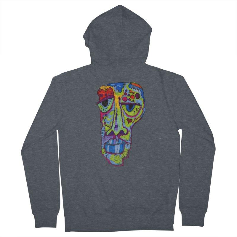 Reflection Men's Zip-Up Hoody by Baston's T-Shirt Emporium!