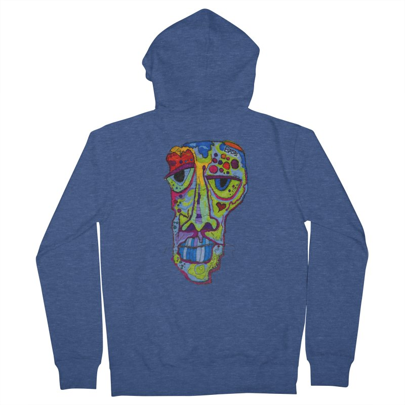 Reflection Men's French Terry Zip-Up Hoody by Baston's T-Shirt Emporium!