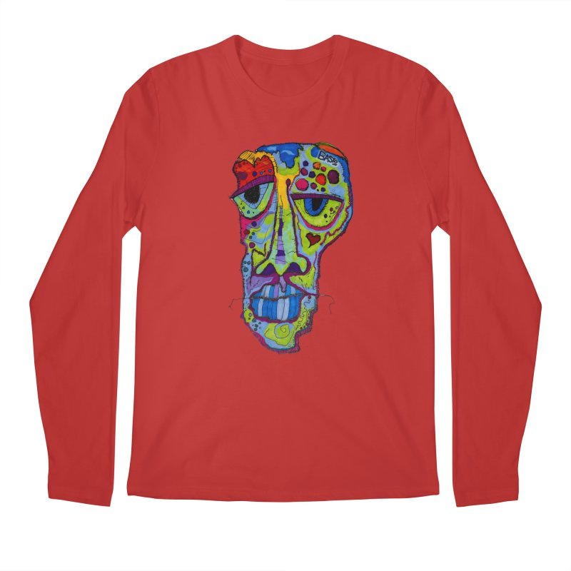 Reflection Men's Regular Longsleeve T-Shirt by Baston's T-Shirt Emporium!