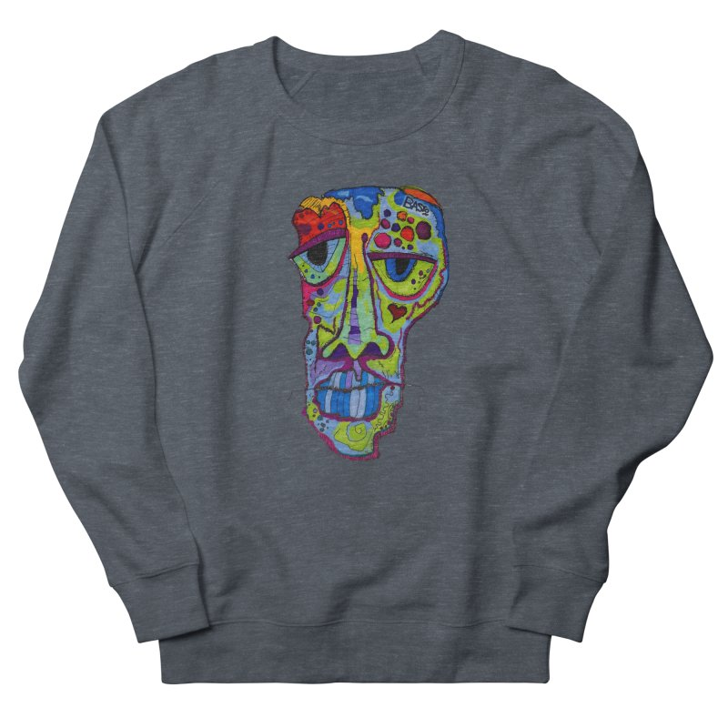 Reflection Men's French Terry Sweatshirt by Baston's T-Shirt Emporium!