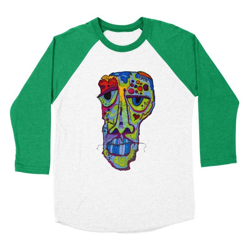 Reflection Women's Baseball Triblend Longsleeve T-Shirt by Baston's T-Shirt Emporium!