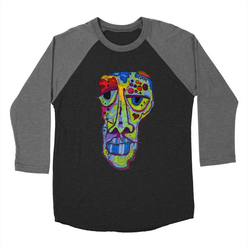 Reflection Men's Baseball Triblend Longsleeve T-Shirt by Baston's T-Shirt Emporium!