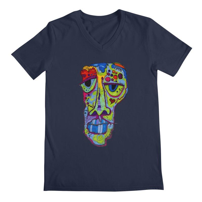 Reflection Men's V-Neck by Baston's T-Shirt Emporium!