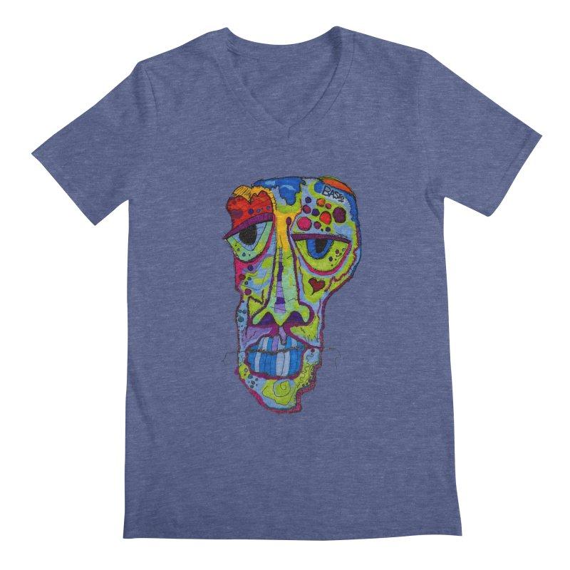 Reflection Men's Regular V-Neck by Baston's T-Shirt Emporium!
