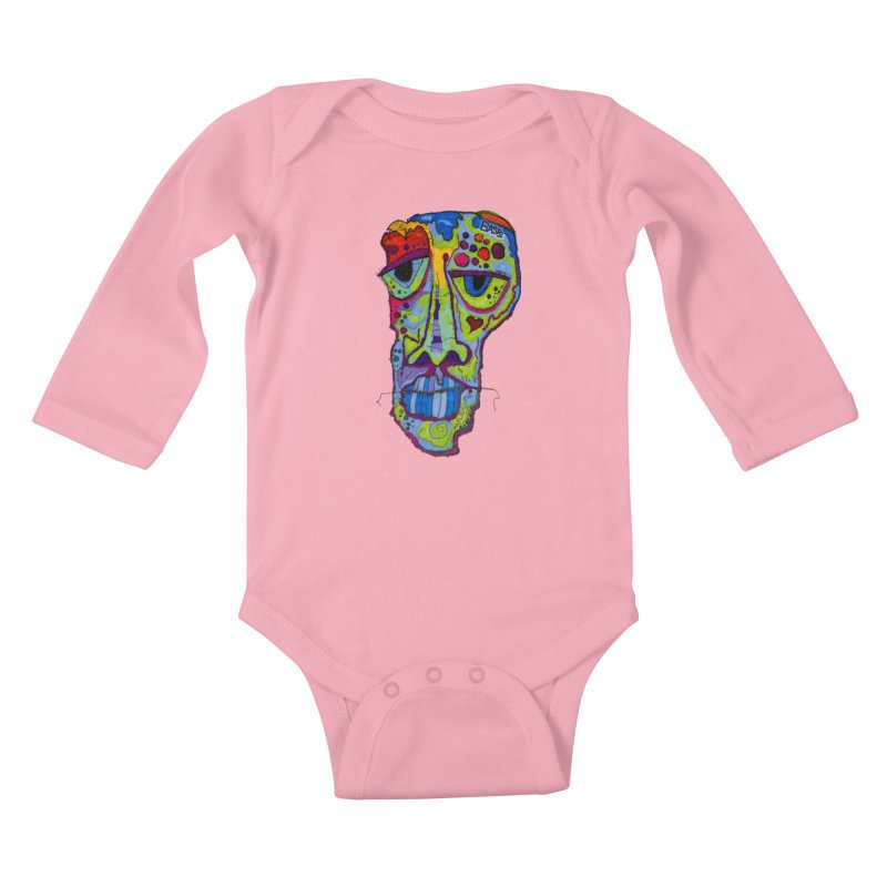 Reflection Kids Baby Longsleeve Bodysuit by Baston's T-Shirt Emporium!