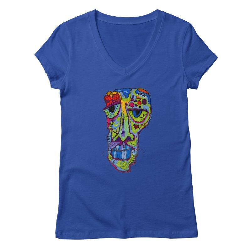 Reflection Women's V-Neck by Baston's T-Shirt Emporium!