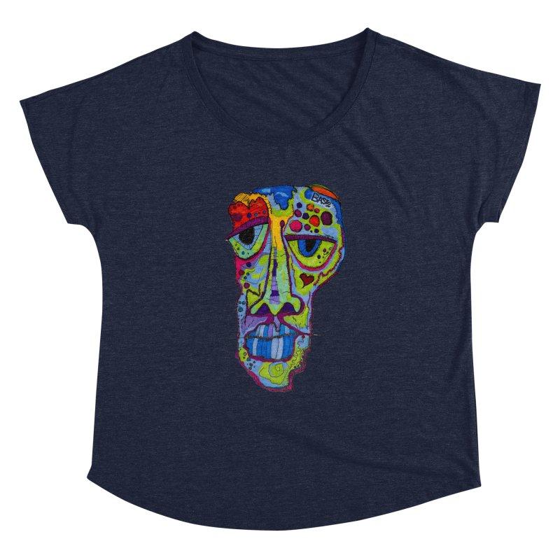 Reflection Women's Dolman Scoop Neck by Baston's T-Shirt Emporium!