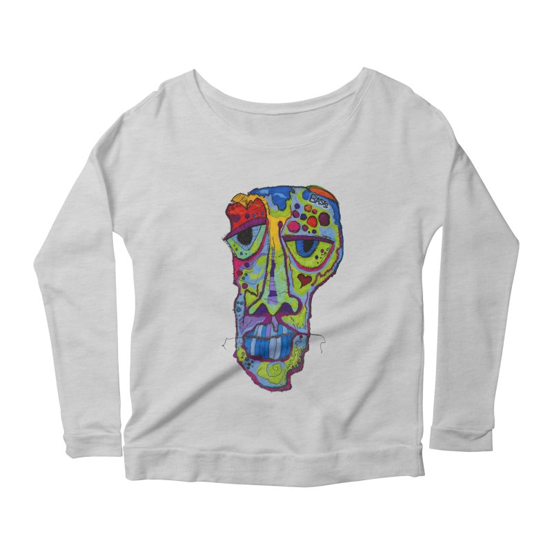 Reflection Women's Scoop Neck Longsleeve T-Shirt by Baston's T-Shirt Emporium!