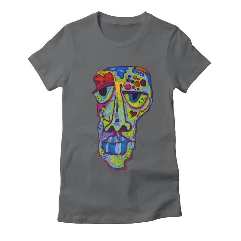 Reflection Women's Fitted T-Shirt by Baston's T-Shirt Emporium!