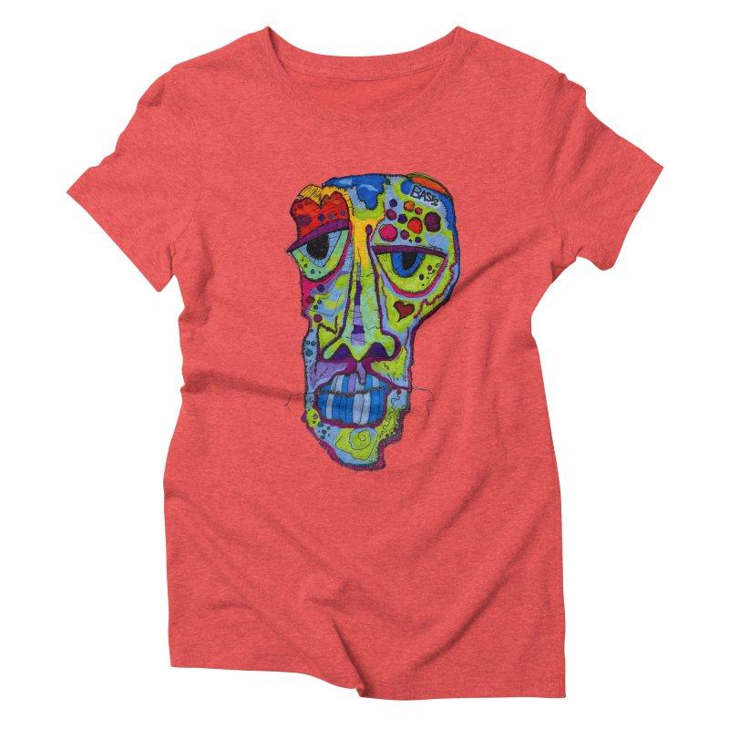 Reflection Women's Triblend T-Shirt by Baston's T-Shirt Emporium!