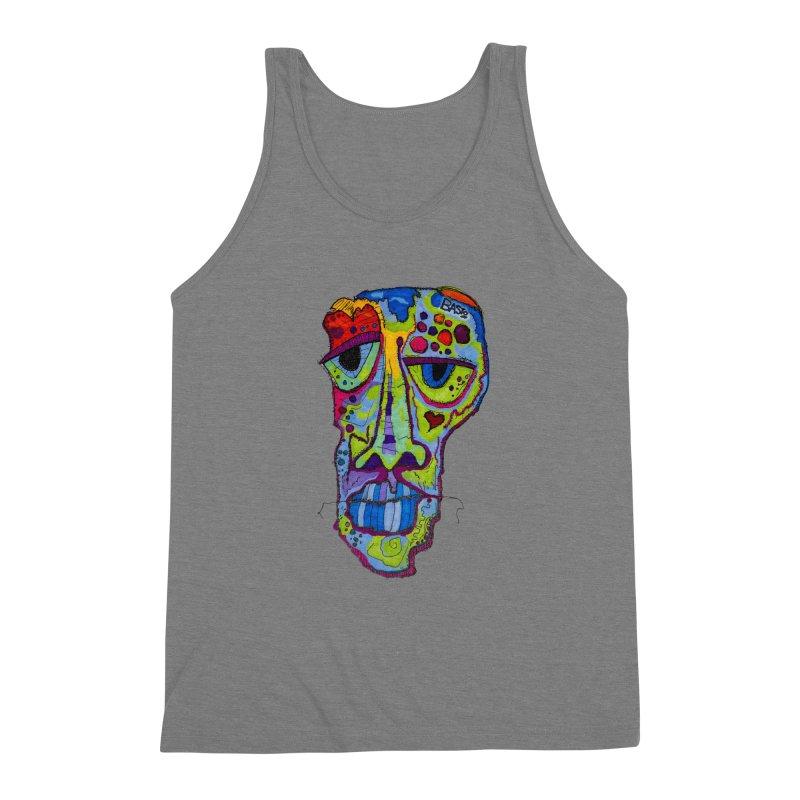 Reflection Men's Triblend Tank by Baston's T-Shirt Emporium!