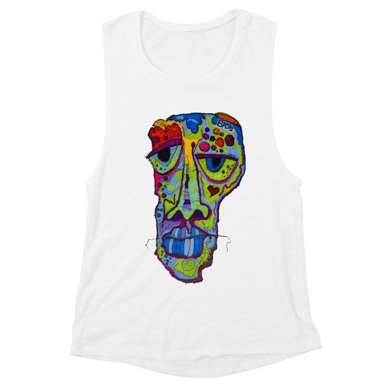 Reflection Women's Muscle Tank by Baston's T-Shirt Emporium!