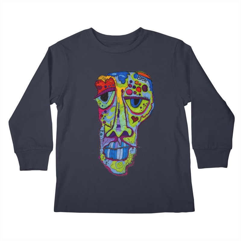 Reflection Kids Longsleeve T-Shirt by Baston's T-Shirt Emporium!