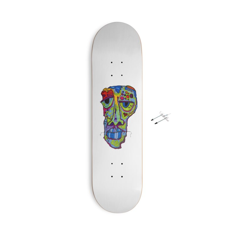 Reflection Accessories With Hanging Hardware Skateboard by Baston's T-Shirt Emporium!
