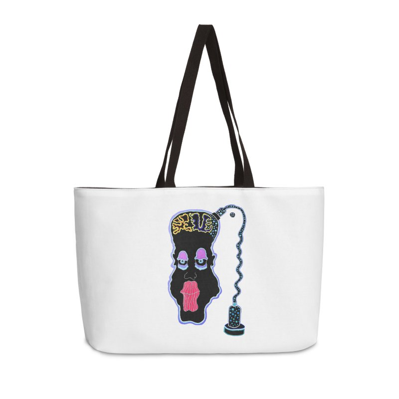 Plugged In Accessories Weekender Bag Bag by Baston's T-Shirt Emporium!