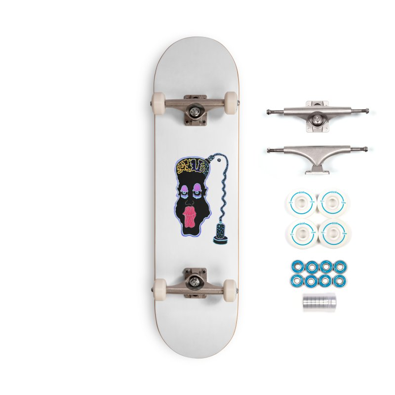 Plugged In Accessories Complete - Basic Skateboard by Baston's T-Shirt Emporium!